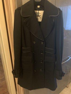 Burberry Wool Coat black