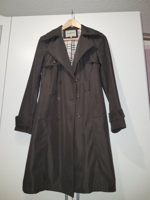 Burberry Coat Dress dark brown
