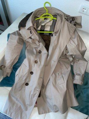 Burberry Manteau à capuche beige-chameau
