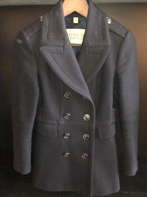 Burberry Brit Cappotto corto blu scuro