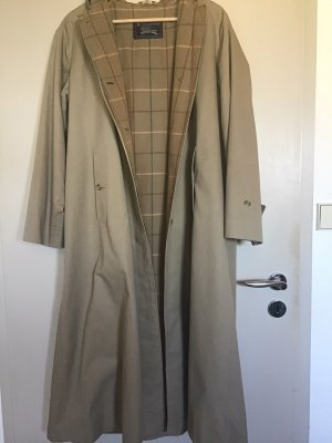 Burberry Floor-Lenght Coat camel-beige cotton