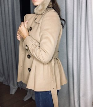 Burberry Coat Dress beige cashmere