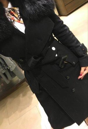 Burberry Cappotto in lana nero Lana