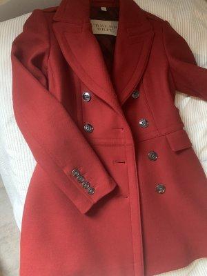 Burberry Winter Coat dark red