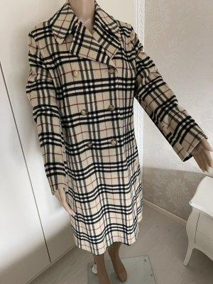 Burberry Wełniany płaszcz Wielokolorowy