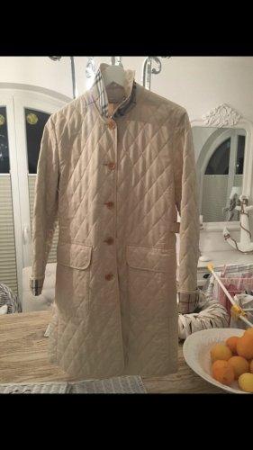 Burberry Abrigo acolchado blanco puro