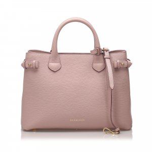 Burberry Satchel pink leather