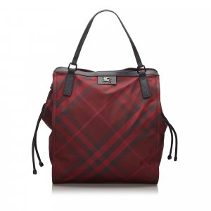 Burberry Tote bordeaux nylon