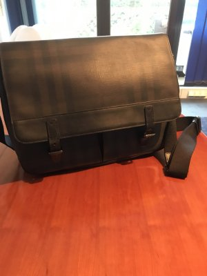 Burberry Messenger check gray