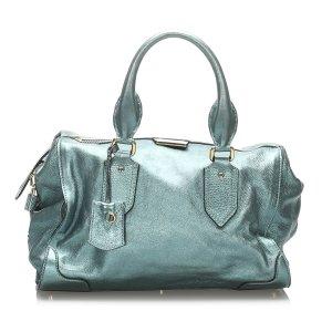 Burberry Metallic Leather Handbag