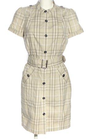 Burberry Koszulowa sukienka Wzór w kratkę W stylu casual