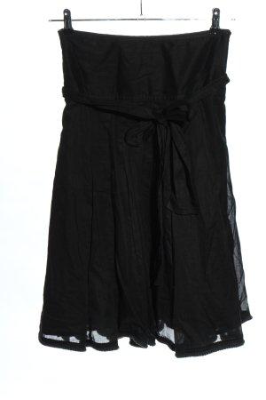 Burberry Spódnica midi czarny W stylu casual