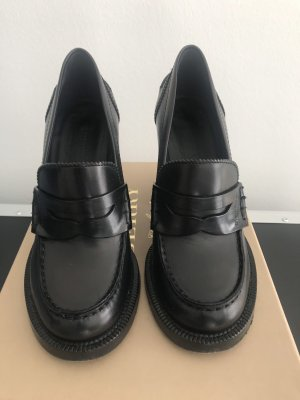 Burberry Moccasins black leather