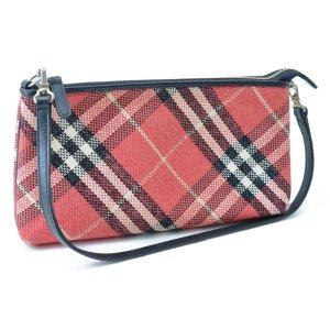 Burberry Shoulder Bag red textile fiber