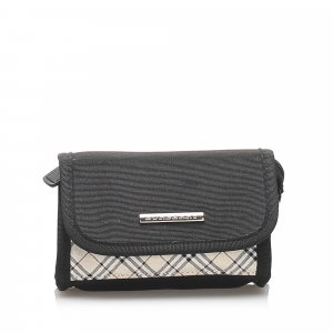 Burberry Nova Check Canvas Pouch