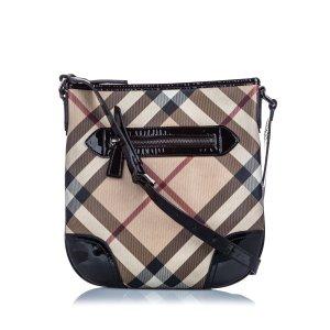 Burberry Crossbody bag light brown polyvinyl chloride