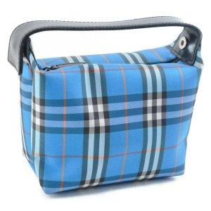 Burberry Handbag blue textile fiber