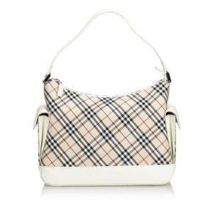 Burberry Nova Check Jacquard Handbag