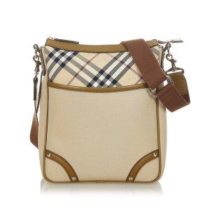 Burberry Nova Check Nylon Crossbody Bag