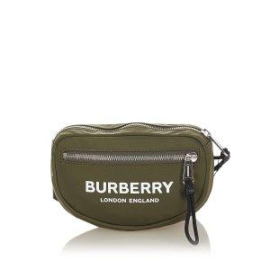 Burberry Nerka ciemnozielony Nylon