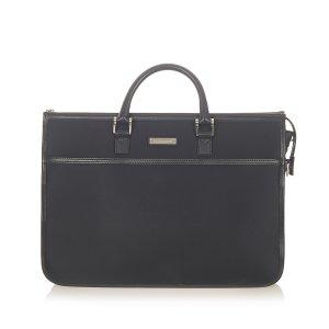 Burberry Business Bag black nylon