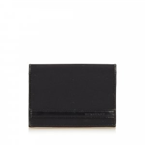 Burberry Custodie portacarte nero Nylon