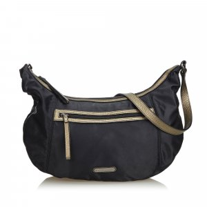 Burberry Bolsa Hobo negro Nailon