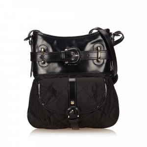 Burberry Shoulder Bag black nylon