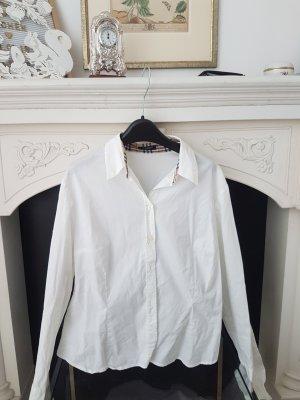 Burberry Long Sleeve Shirt white