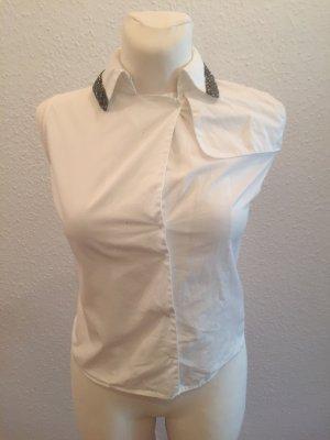 Burberry Bluzka z krótkim rękawem biały-srebrny