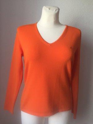 Burberry Long Sleeve Blouse neon orange