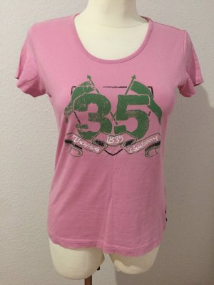 Burberry Basic Top pink-lime-green