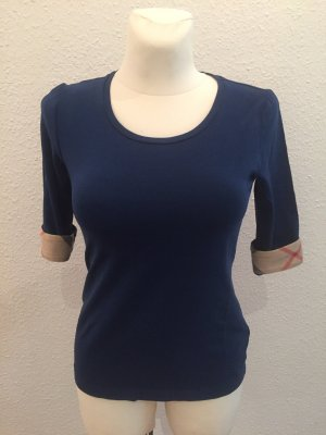 Burberry Koszulka basic niebieski