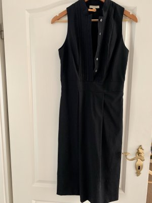Burberry A Line Dress black wool