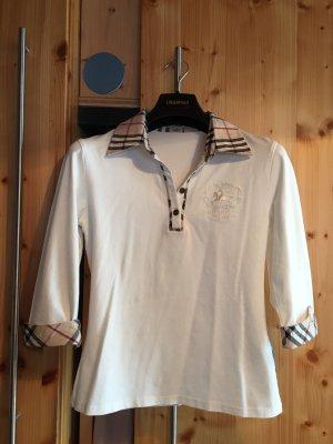 Burberry Shirt met korte mouwen veelkleurig
