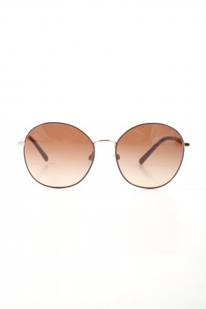"""Burberry ovale Sonnenbrille """"BE 0BE3094 56 114513"""" goldfarben"""