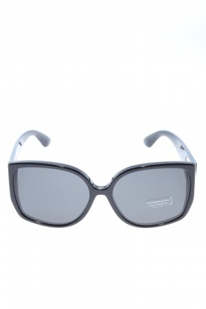 Burberry Oval Sunglasses black business style