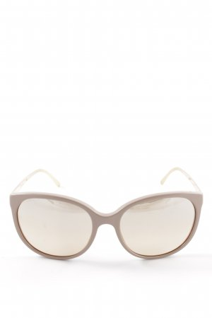 Burberry Gafas panto crema estilo «business»