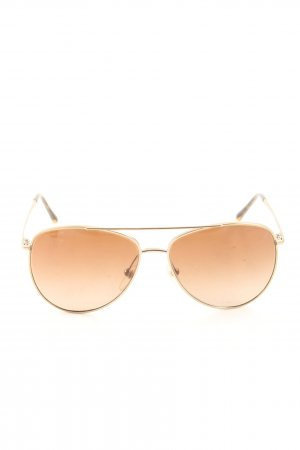Burberry Aviator Glasses gold-colored casual look