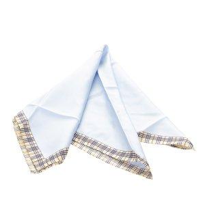 Burberry Scarf blue cotton
