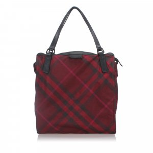 Burberry Tote red nylon