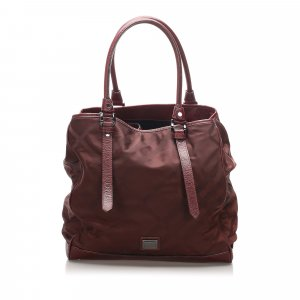 Burberry Sacoche rouge nylon
