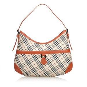 Burberry Shoulder Bag beige nylon
