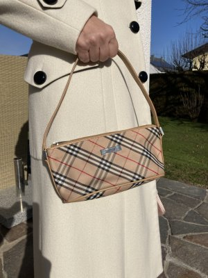 BURBERRY Pochette Abendtasche Clutch kleine Hand- und Schultertasche in typischem Check