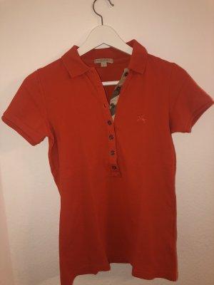 Burberry Polo Shirt dark orange
