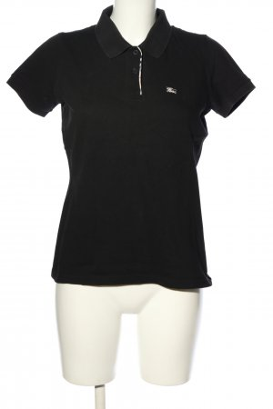 Burberry Polo-Shirt schwarz Casual-Look