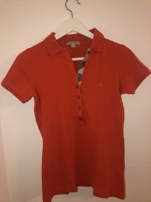 Burberry Polo Shirt dark orange