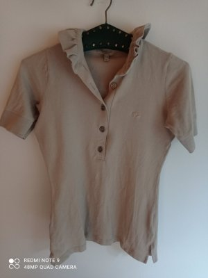 Burberry London Polo Shirt oatmeal