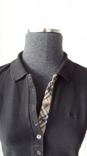 Burberry Polo-Shirt, schwarz Gr. S