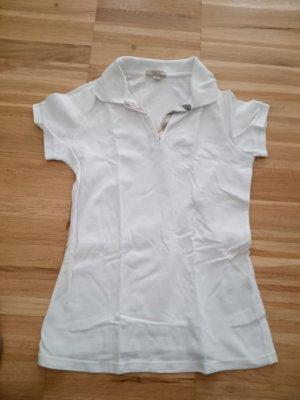 Burberry Koszulka polo biały Bawełna